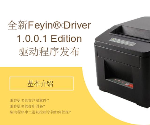 Feyin®️ Driver 1.0.0.1 Edition驱动程序发布